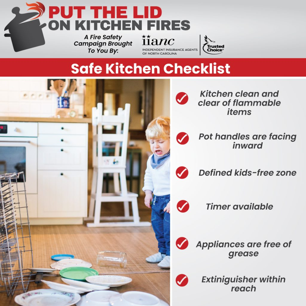 Fire Safety Info Graphic